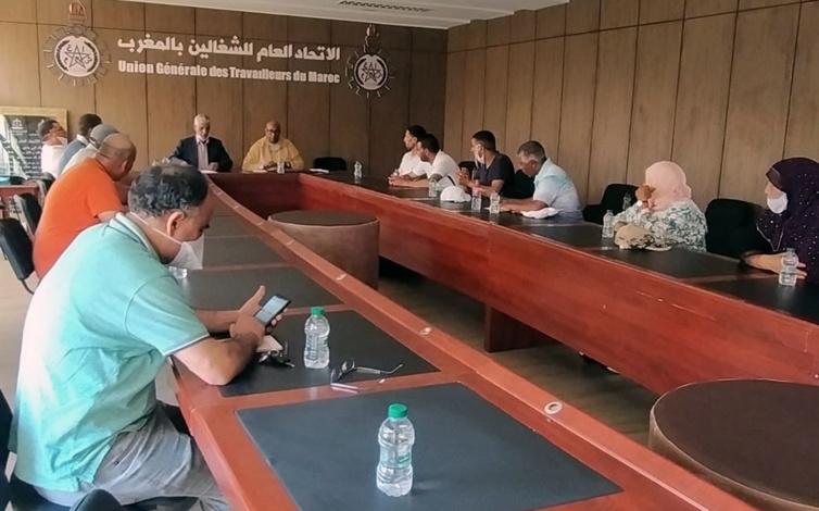 مواصلة الدينامية التنظيمية للاتحاد العام للشغالين بالمغرب