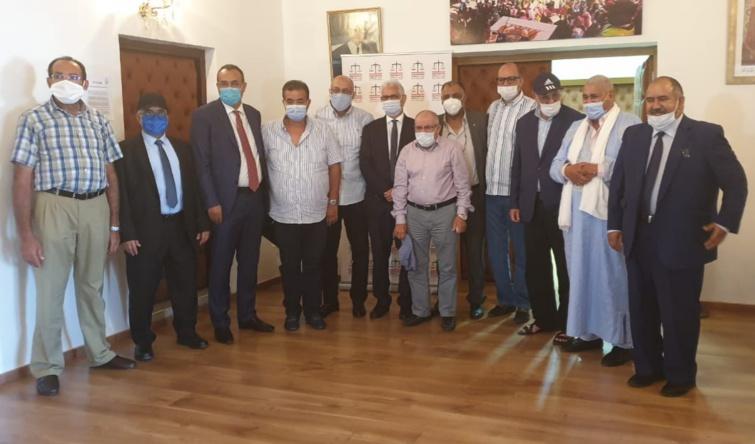 انضموا رسميا إلى صفوف حزب الاستقلال.. الأخ نزار بركة يستقبل ممثلين عن مهنيي قطاع الصيد البحري