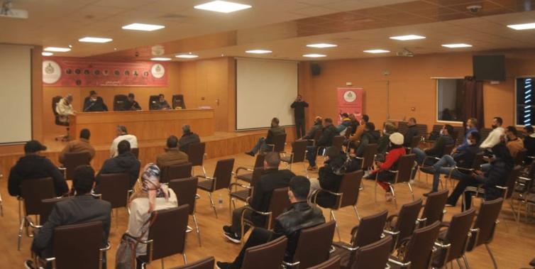 في الدورة الثانية للمجلس الوطني للجامعة الوطنية لموظفي وزارة الشباب والرياضة ببوزنيقة