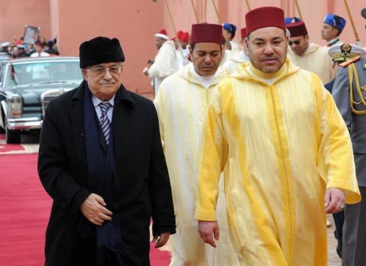 جلالة الملك يوجه رسالة إلى أخيه فخامة الرئيس محمود عباس أبو مازن رئيس دولة فلسطين