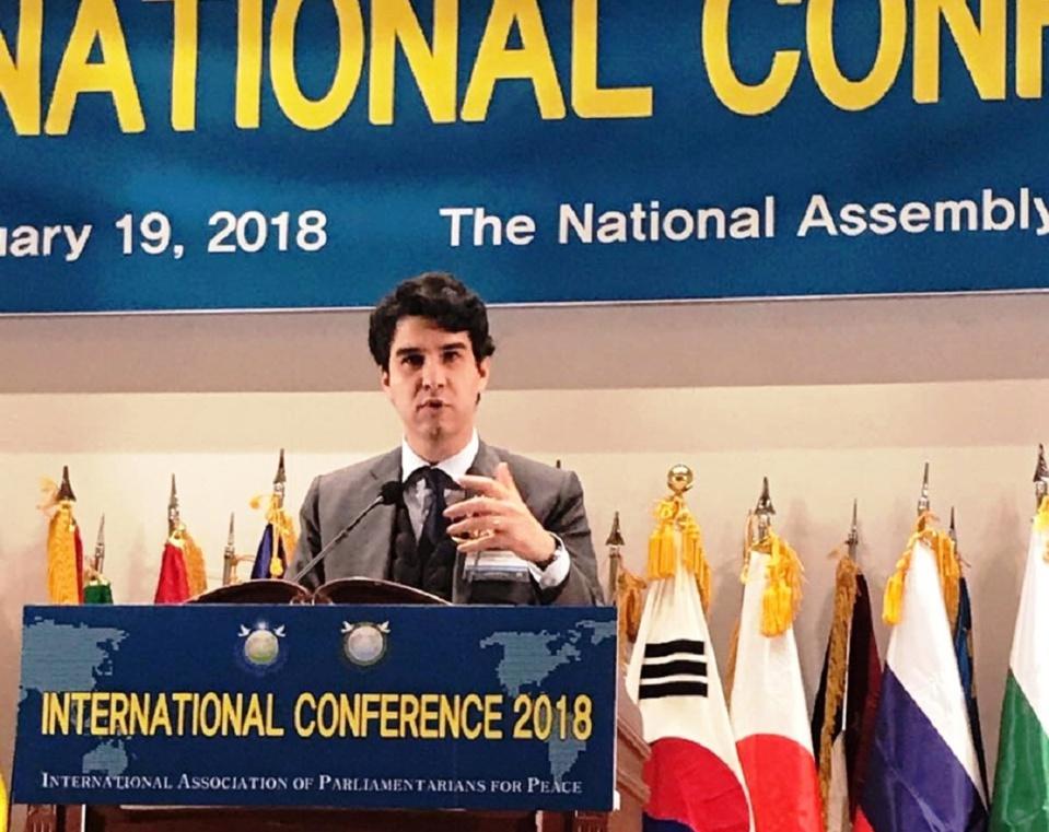تعزيزا للدبلوماسية البرلمانية النائب عبد المجيد الفاسي يؤكد من برلمان كوريا الجنوبية