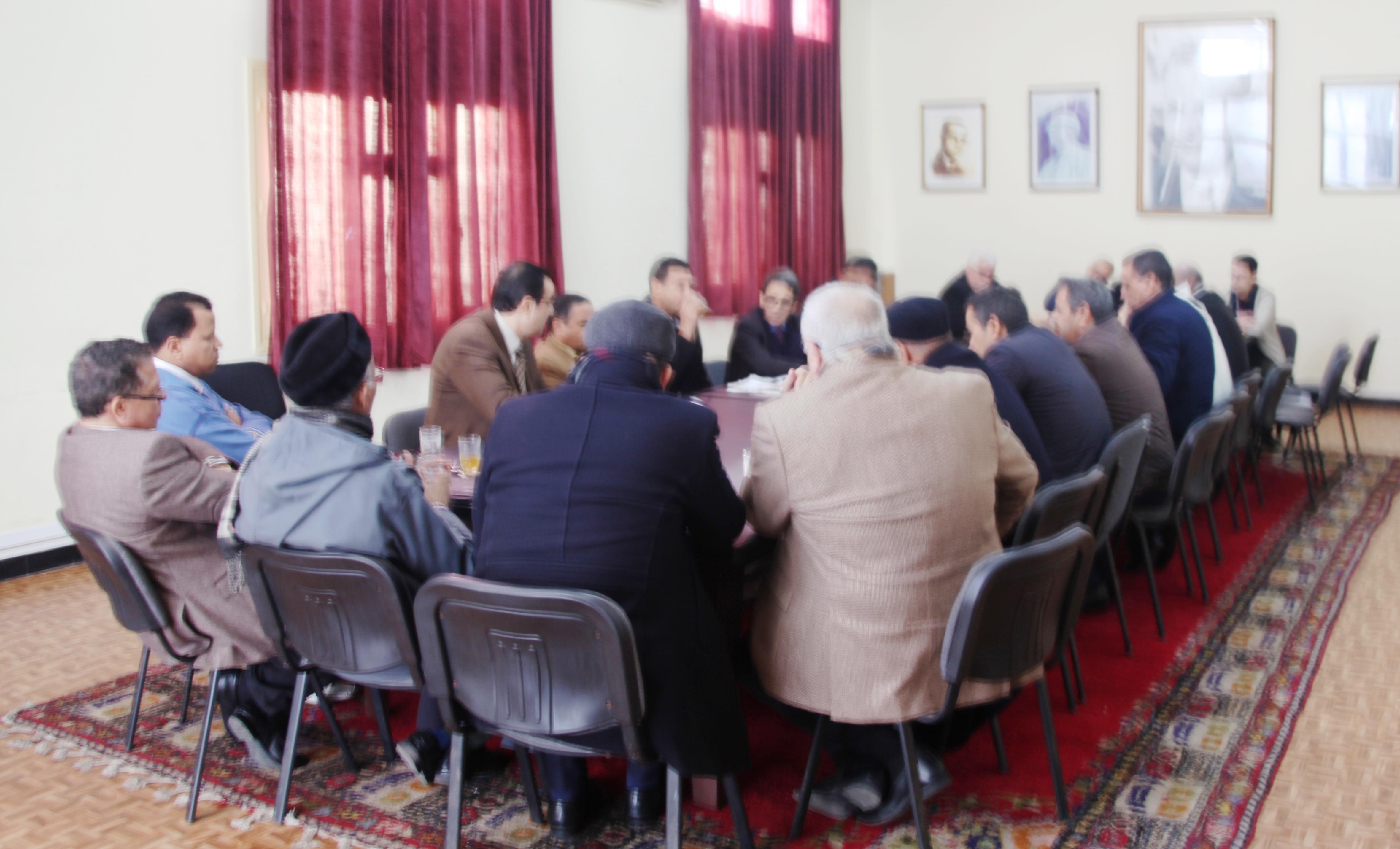 المركز العام لحزب الاستقلال يحتضن اجتماعا تنظيميا استعدادا للاحتفال بذكرى 11 يناير
