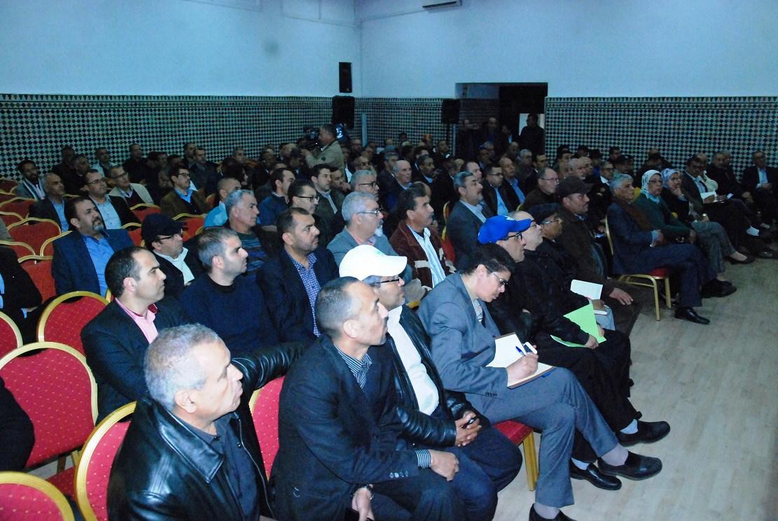 في دورة المجلس العام الاتحاد العام للشغالين بالمغرب