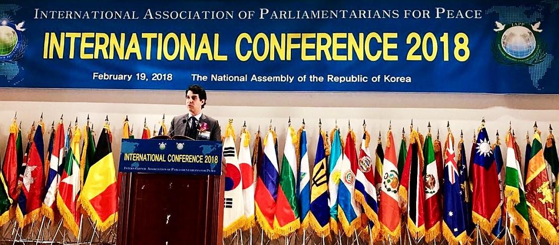 تعزيزا للدبلوماسية البرلمانية النائب عبد المجيد الفاسي يؤكد من برلمان كوريا الجنوبية: