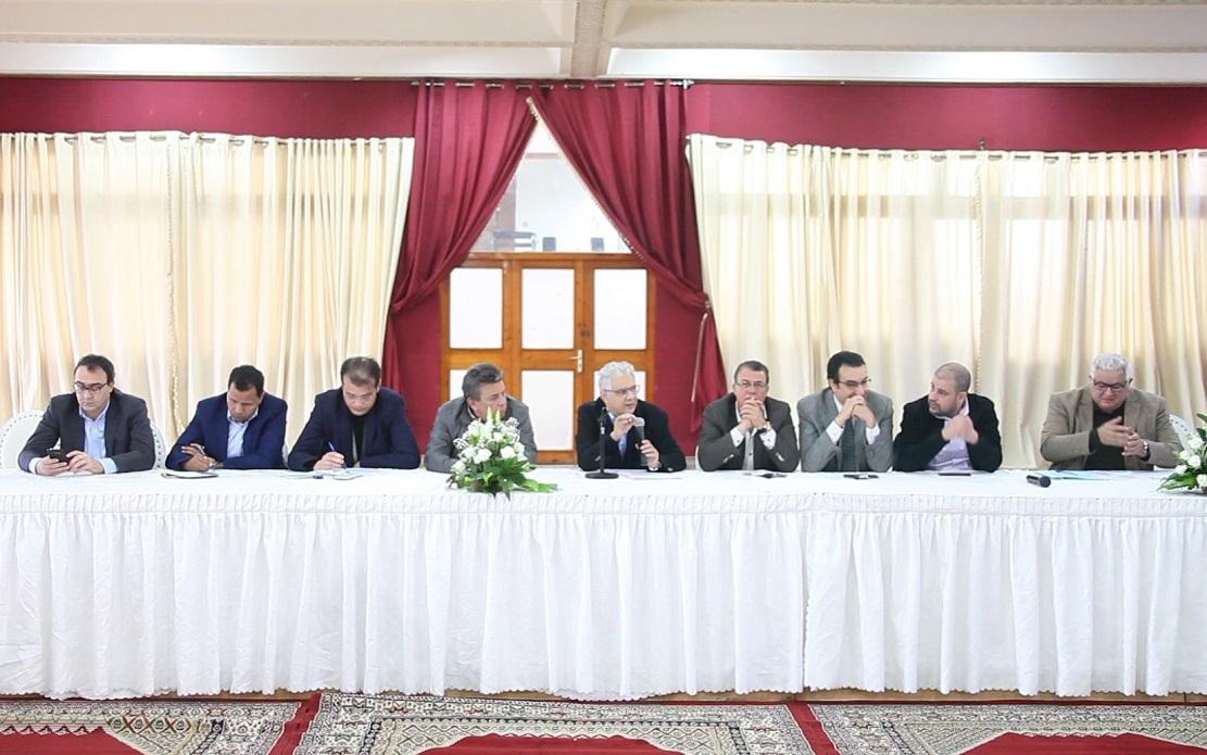الأخ نزار بركة الأمين العام لحزب الاستقلال يترأس الدورة الثانية لمجلس المفتشين