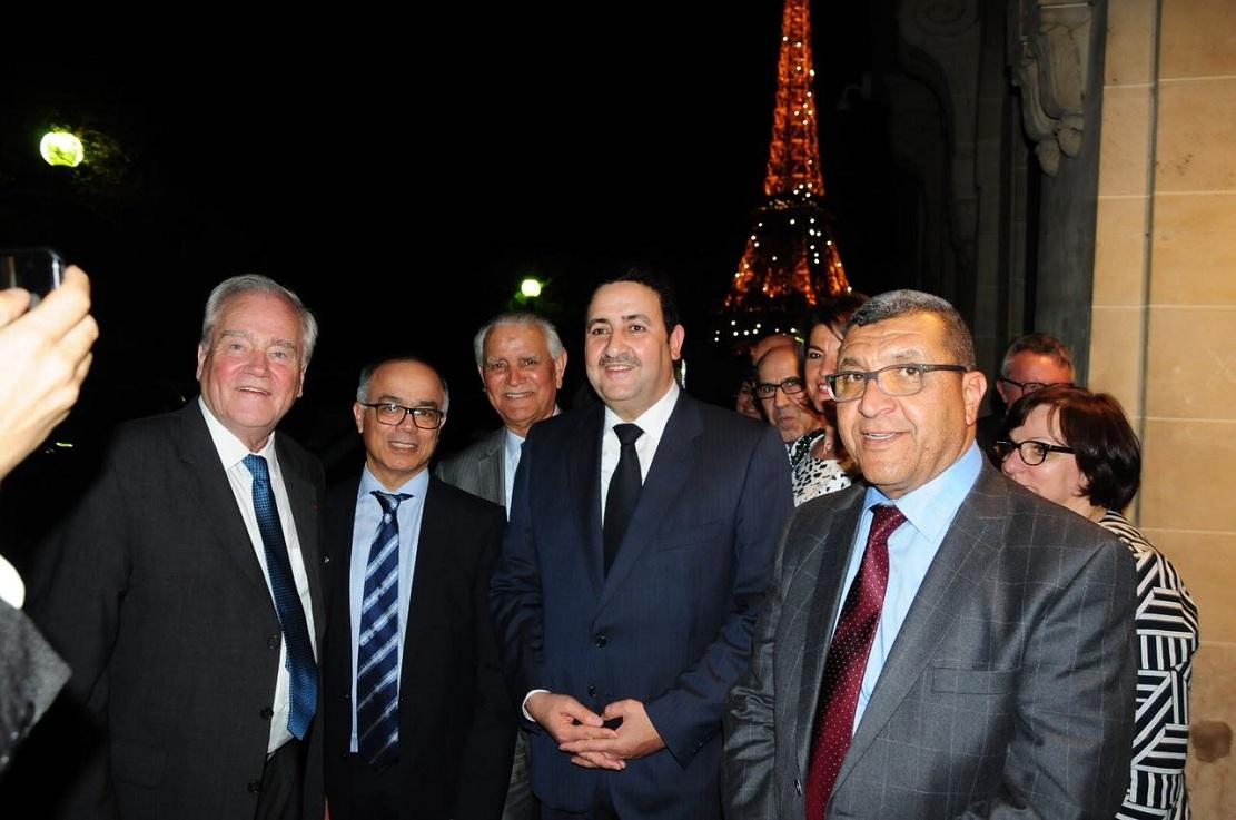 الأخ عبد الصمد قيوح يقود وفدا من مجلس المستشارين في زيارة عمل إلى باريس ومارسيليا