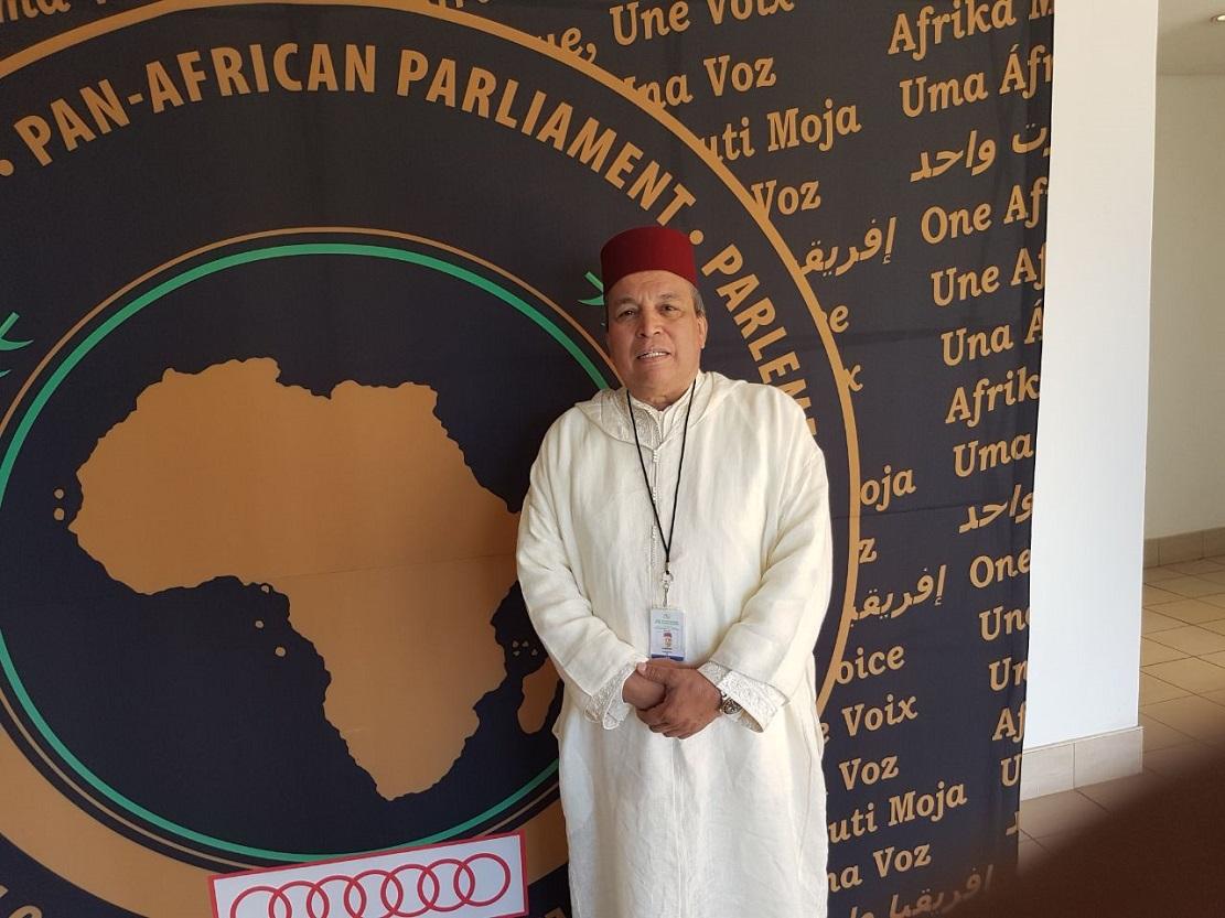 الأخ عبداللطيف أبدوح يشارك ضمن وفد من البرلمان المغربي في أشغال برلمان عموم إفريقيا بمدينة ميدراند بجنوب إفريقيا