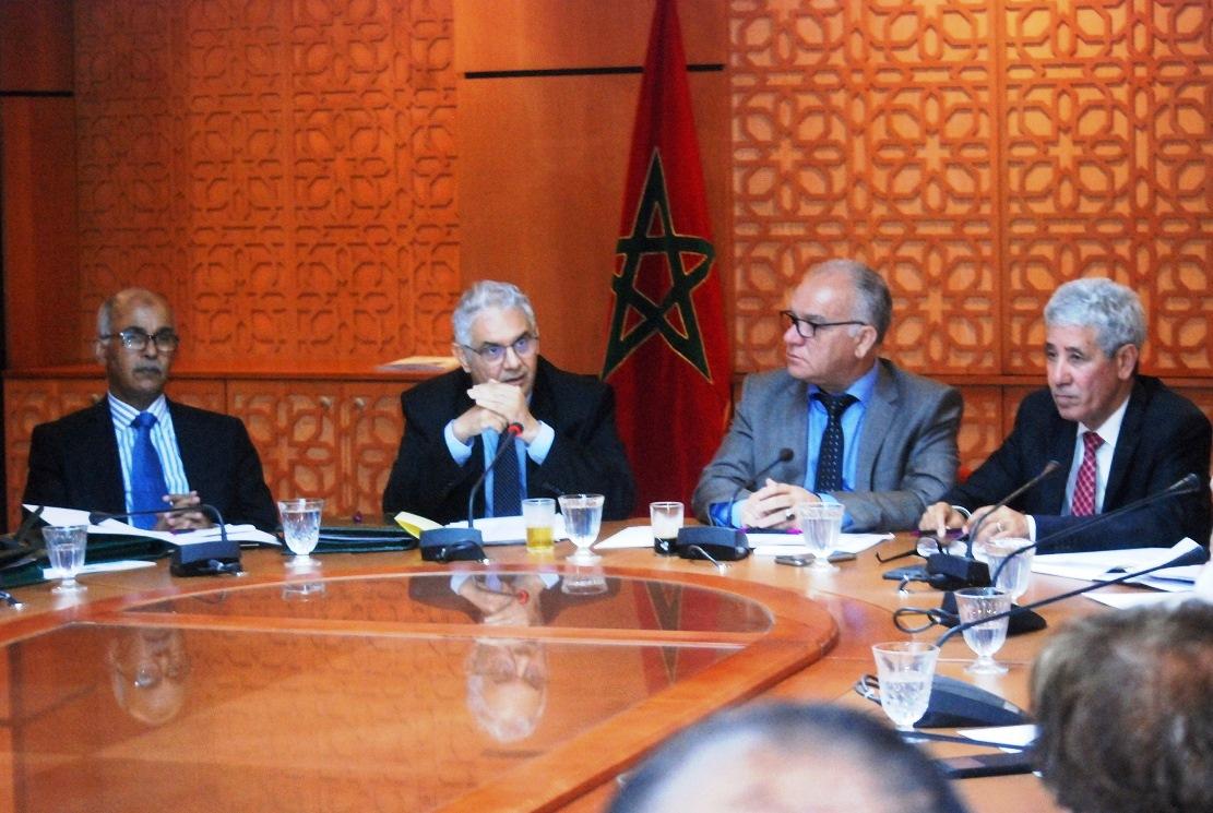 الأخ نزار بركة يترأس الاجتماع الأسبوعي للفريق الاستقلالي بمجلس النواب