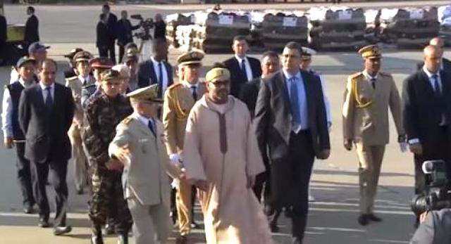 جلالة الملك يشرف شخصيا على إرسال مساعدات طبية إلى الشعب الفلسطيني
