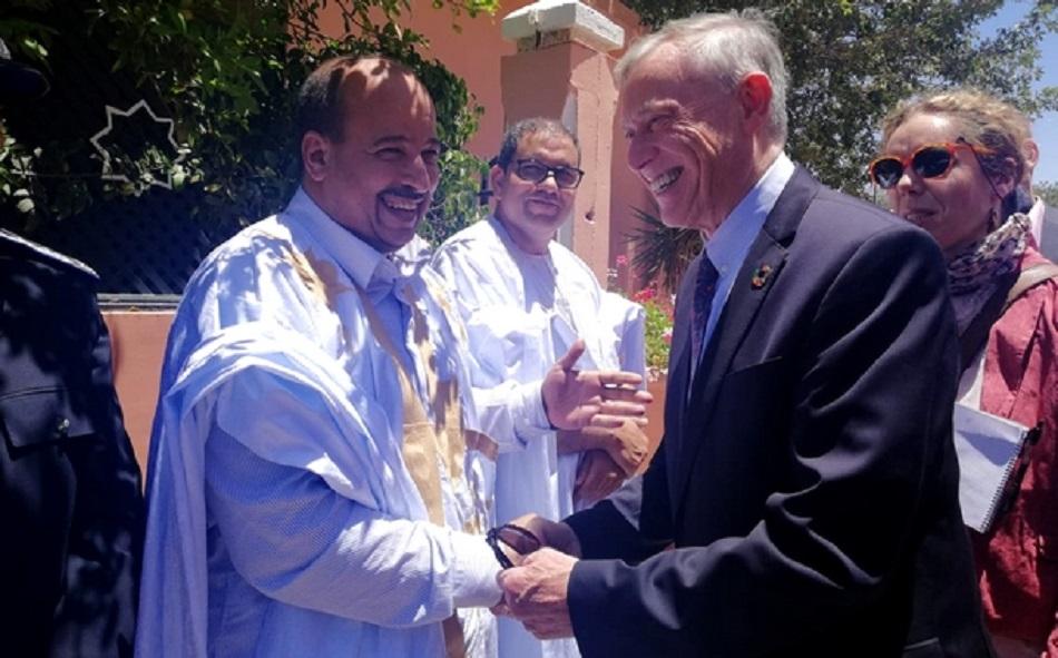 الأخ الكاتب العام النعم ميارة يستقبل مبعوث الأمم المتحدة للصحراء المغربية