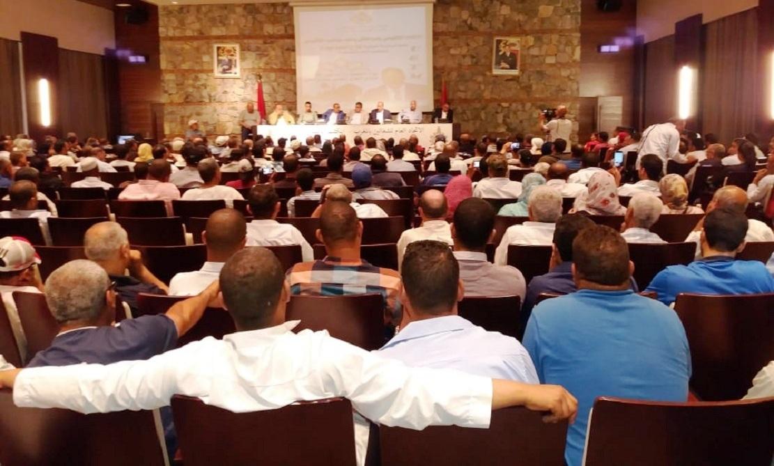 الأخ النعم ميارة يترأس مؤتمر تجديد المكتب الإقليمي للاتحاد العام للشغالين بمراكش