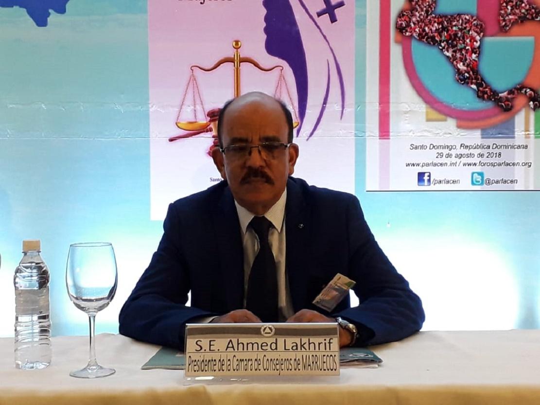الاخ احمد الخريف  :  الإصلاحات السياسية التي باشرها المغرب على مدى العقدين الماضيين تعكس رسوخا حقيقيا للمؤسسات وللتعددية السياسية