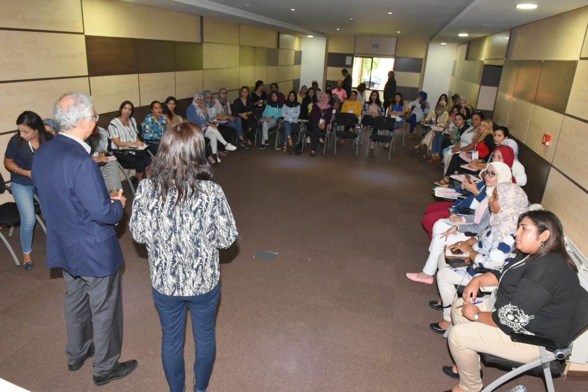 الأخ نزار بركة يثمن تجربة فتيات الانبعاث ويستنهض همم الشباب للمشاركة الفاعلة في تنمية الوطن