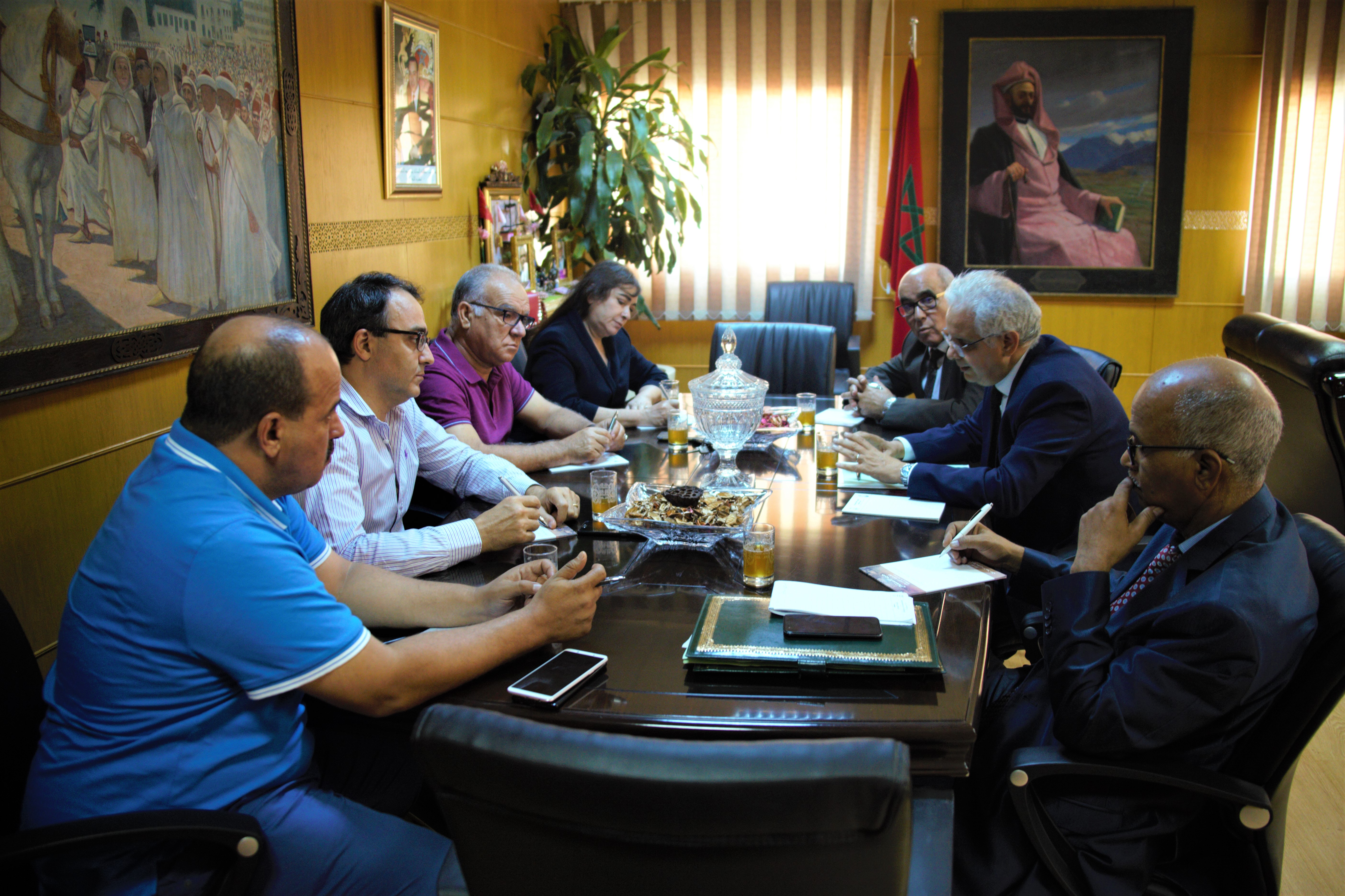 الأمين العام لحزب الاستقلال يترأس اجتماع لجنة تنسيق وتطوير العمل الحزبي بالمدن الكبرى