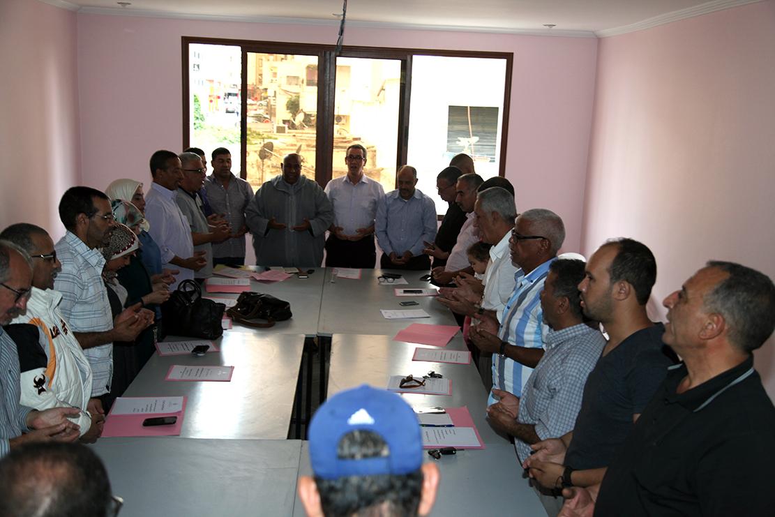 في الجمع العام لتجديد المكتب الإقليمي بمكناس للجامعة الوطنية لموظفي وأعوان وزارة الشباب والرياضة