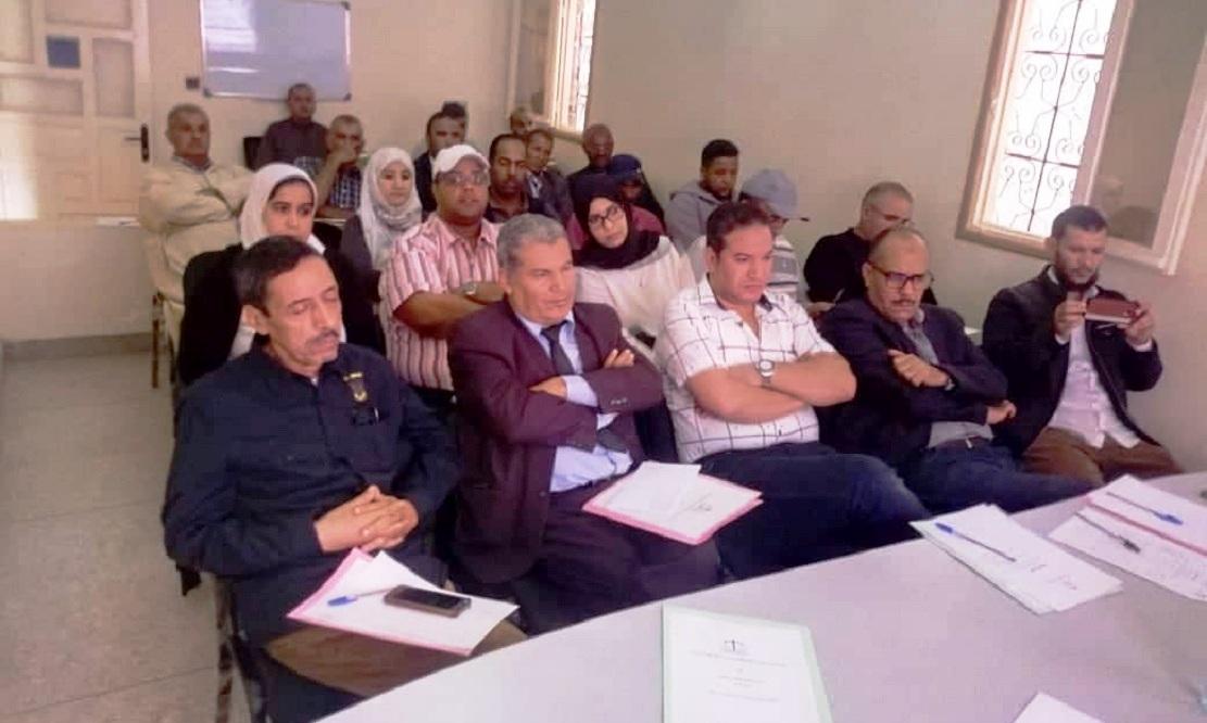 الأخ عمر عباسي يترأس أشغال المجلس الإقليمي لوارزازات