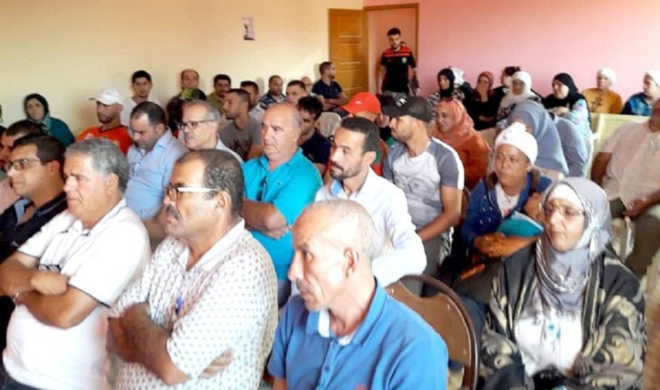 الأخ رشيد زمهوت مبعوث اللجنة التنفيذية يترأس  أشغال المجلس الإقليمي لحزب الاستقلال ببركان