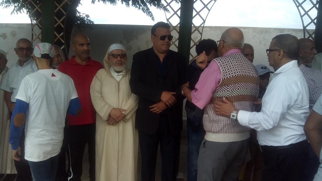 الاستقلاليون والاستقلاليات بتطوان يودعون الحاج الحسين بنصبيح إلى  دار البقاء
