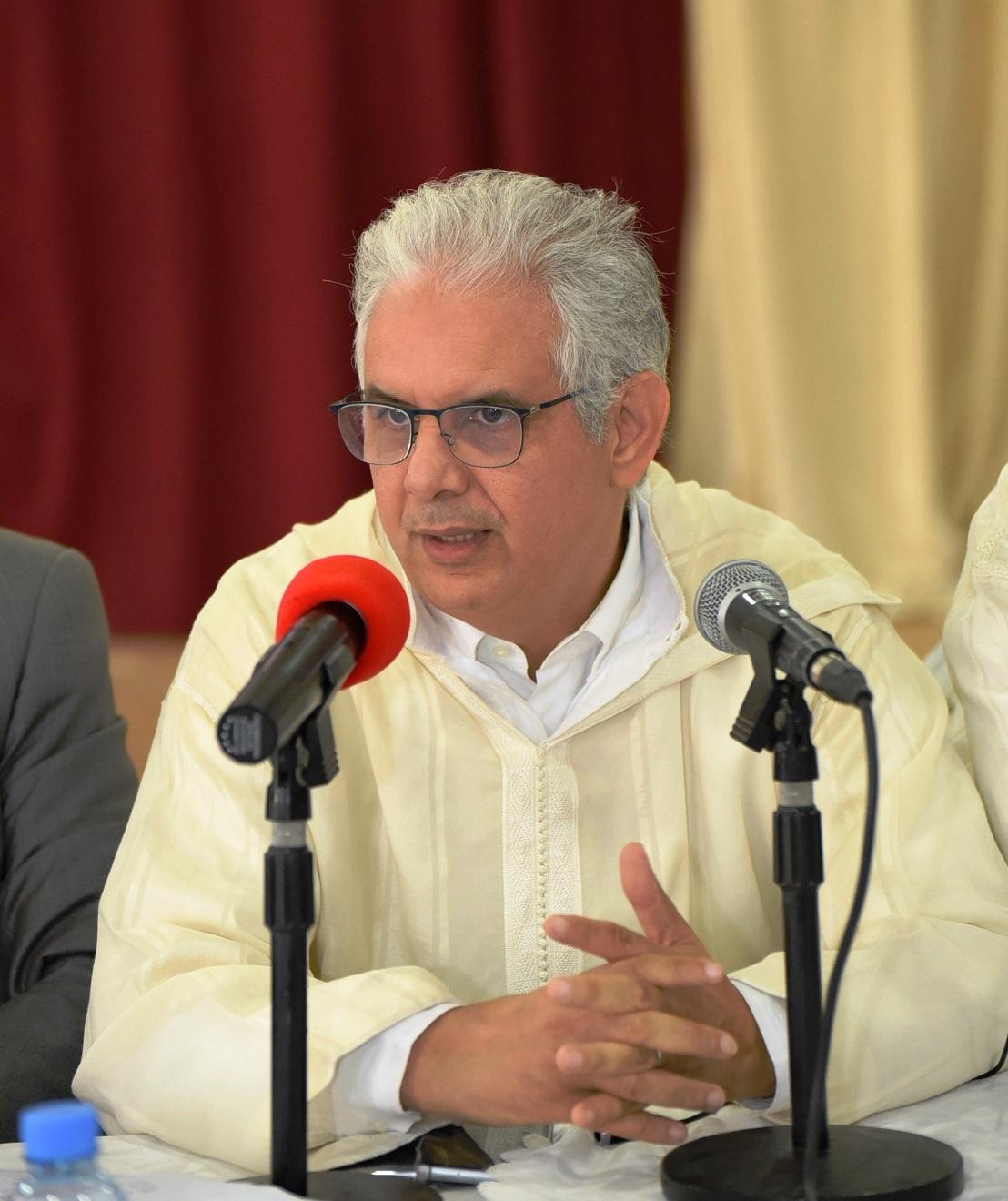 الأخ نزار بركة يترأس اجتماعا للفريق الاستقلالي للوحدة التعادلية بمجلسي النواب والمستشارين