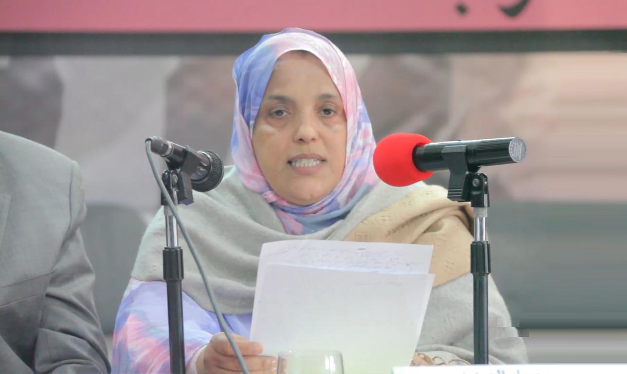 الأخت مريم ماء العينين: المناظرة تأتي لتفعيل إحدى مرتكزات رؤية الحزب المتمثلة في دعم الغرف المهنية