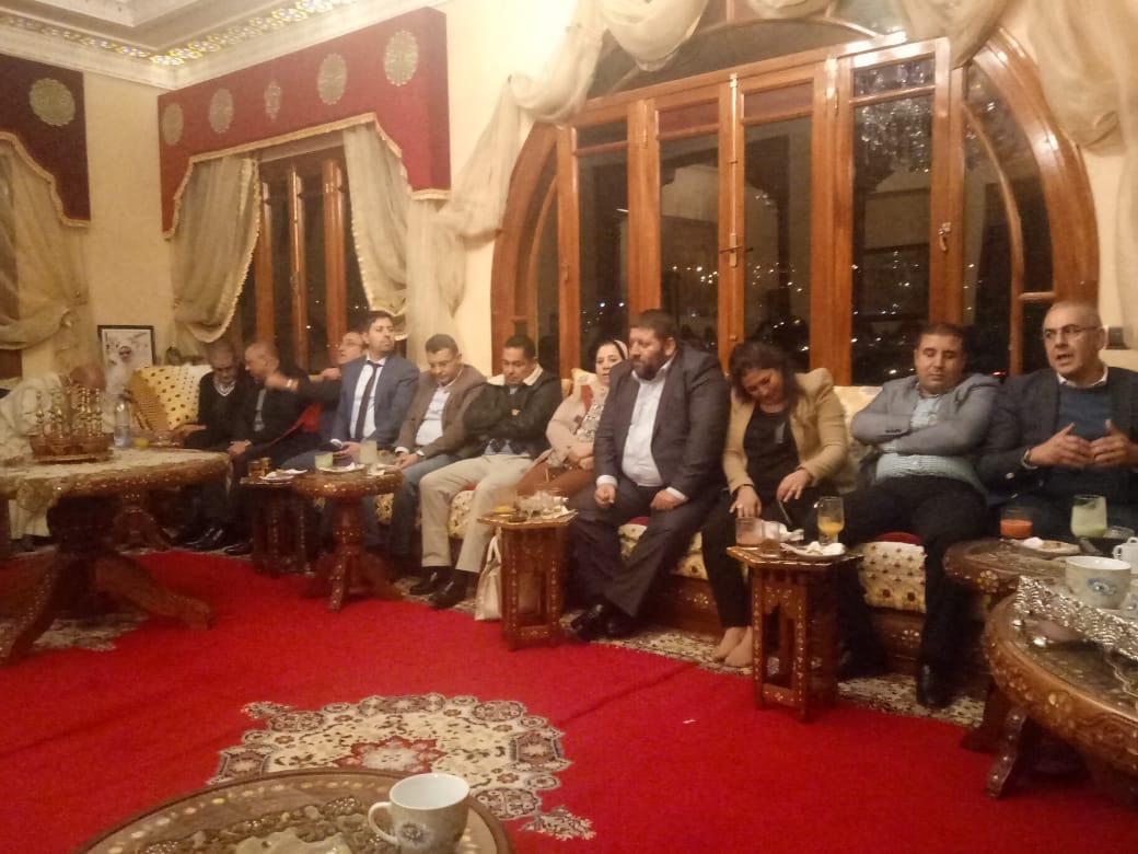 الأخ عبد اللطيف معزوز يترأس لقاءا تحضيريا هاما لتأسيس الفرع الجهوي لرابطة الاقتصاديين الاستقلاليين بجهة طنجة - تطوان - الحسيمة