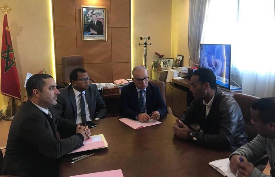 الفريق الاستقلالي بمجلس النواب يستقبل التنسيقية الوطنية لأساتذة الزنزانة 9