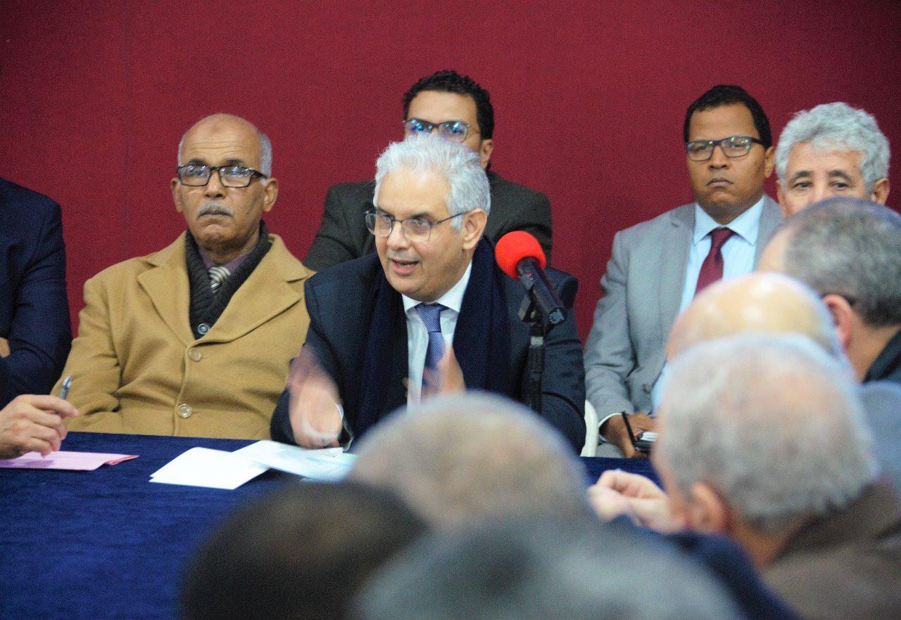 الأخ الأمين العام لحزب الاستقلال يترأس اجتماع مجلس المفتشين