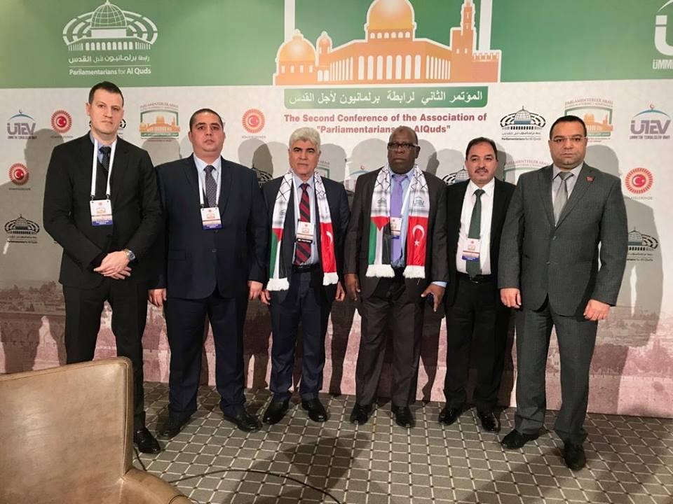 وفد برلماني استقلالي كبير يشارك في مؤتمر برلمانيون من أجل القدس