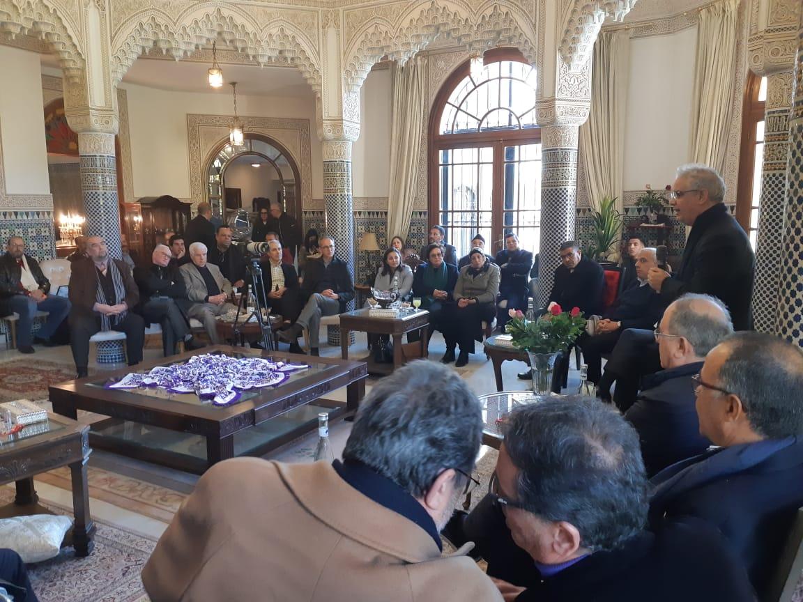 الأخ نزار بركة الأمين العام لحزب الاستقلال يعقد لقاءا تواصليا هاما مع رجال الأعمال والمنعشين الاقتصاديين بمدينة فاس