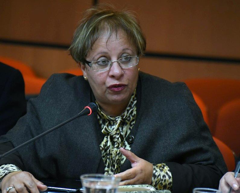 الأخت عبلة بوزكري : لاستفسار عن أسباب عدم بناء المستشفى متعدد الاختصاصات بإقليم مكناس