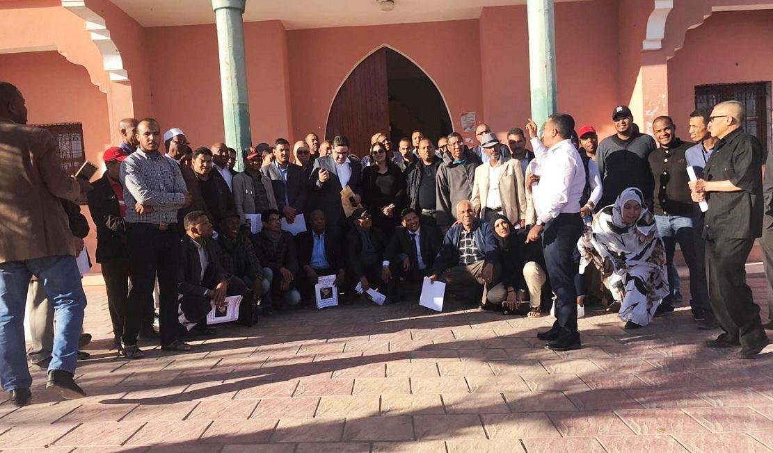 الأخ عبدالصمد قيوح يترأس دورة المجلس الإقليمي لحزب الاستقلال بمدينة طاطا