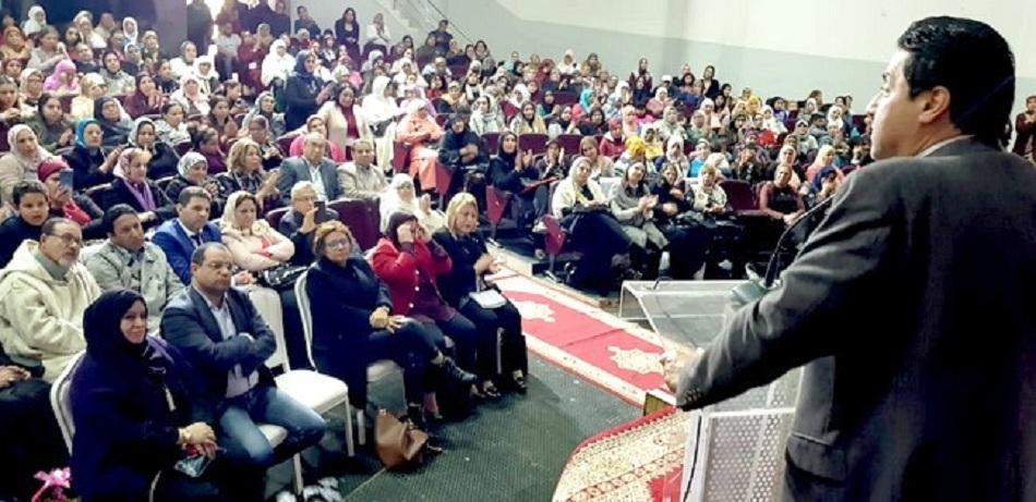 """منظمة المرأة الاستقلالية بوجدة تنظم ندوة فكرية في موضوع:""""حقوق المرأة المغربية بين الواقع و القانون"""""""