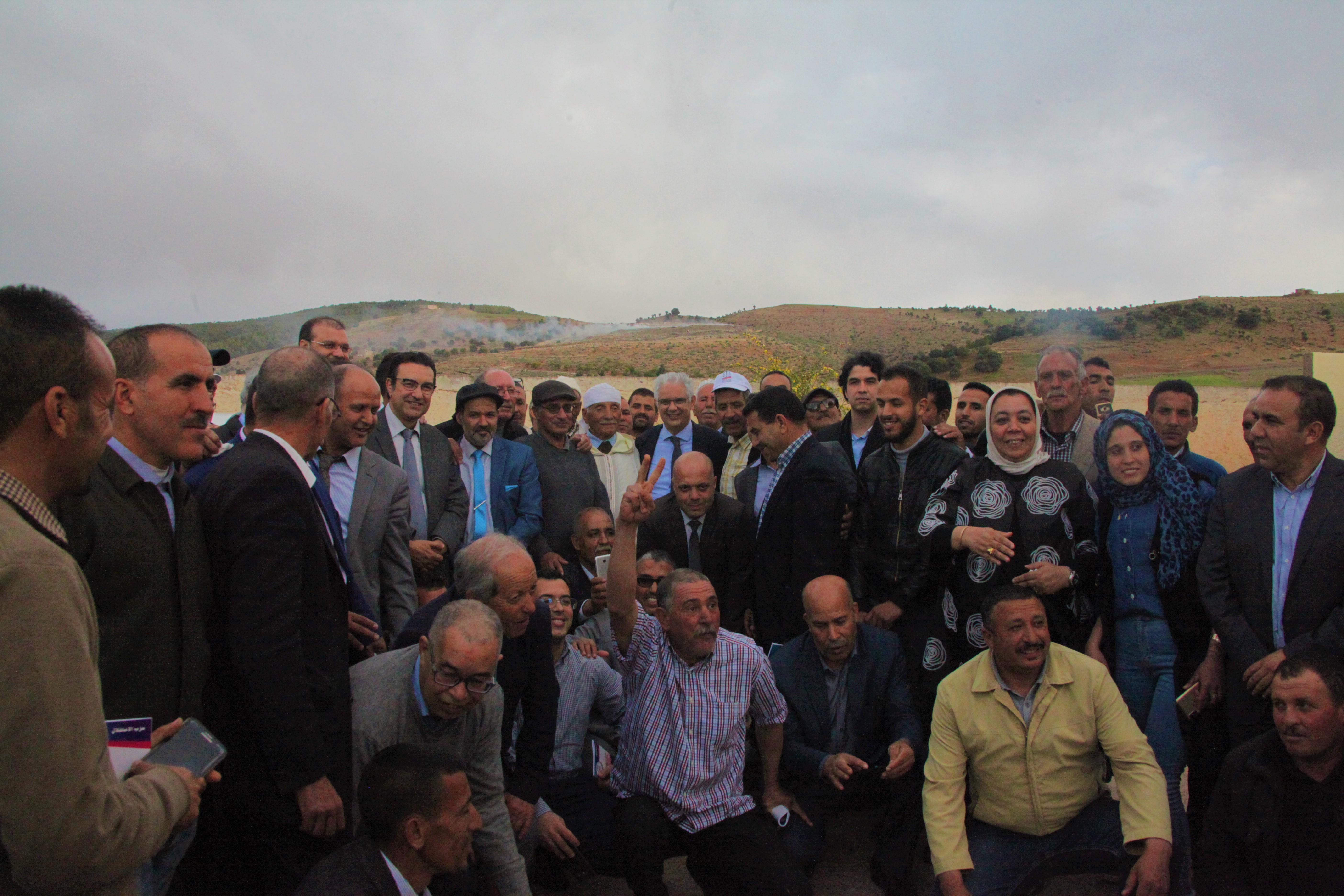 من أزيلال.. الأخ نزار بركة يشدد على ضرورة تقليص هوة الفقر والهشاشة الكبيرة التي تعاني منها ساكنة المناطق الجبلية