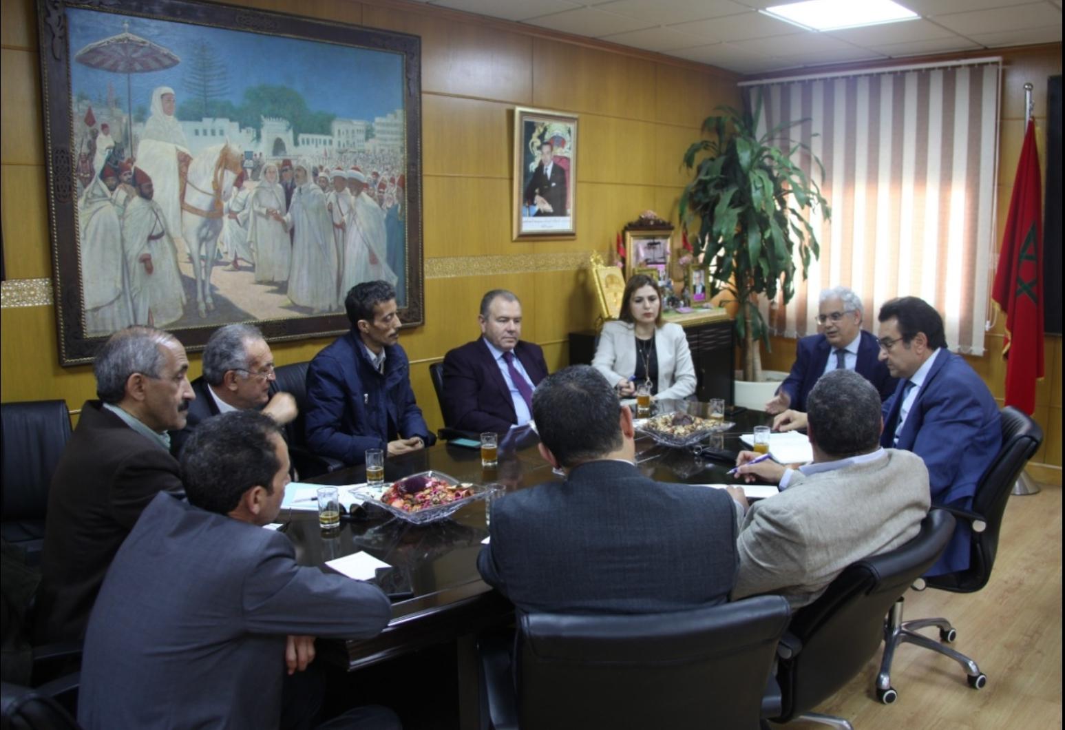 الأخ نزار بركة يترأس اجتماعا لرؤساء وممثلي الروابط المهنية الاستقلالية