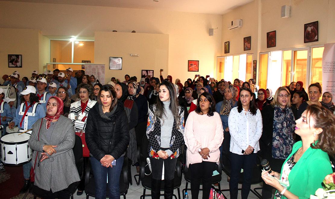 منظمة فتيات الانبعاث تواصل ترافعها من أجل رفع الحيف عن الفتاة المغربية