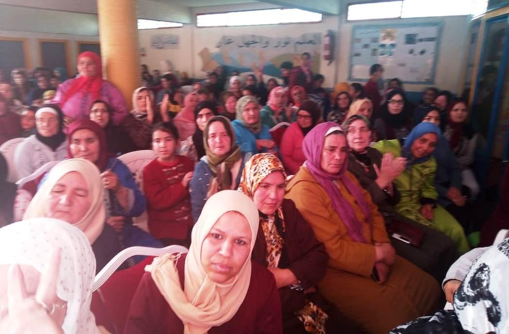 الأخت خديجة الزومي تترأس أشغال المؤتمر الاقليمي لمنظمة المرأة الاستقلالية بتازة