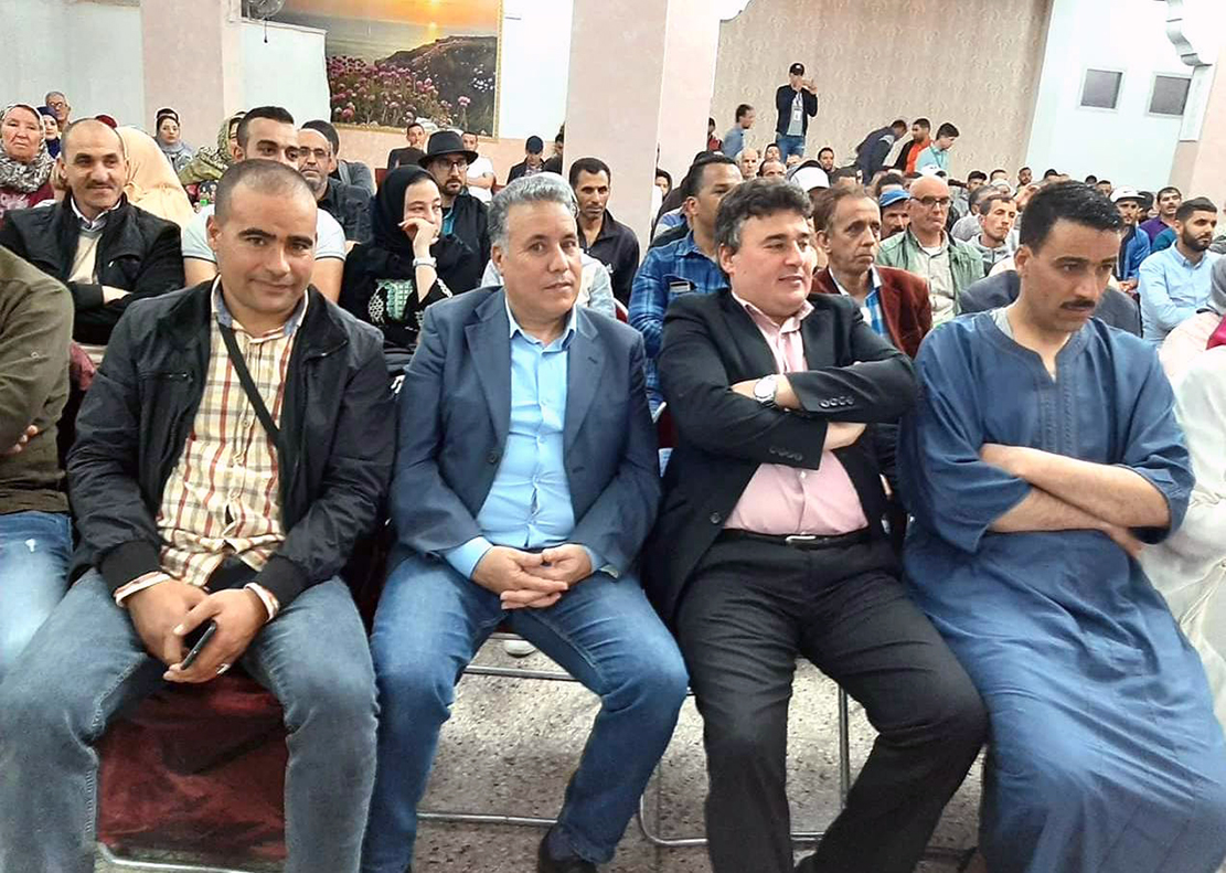 الأخ نورالدين مضيان يترأس لقاء مفتوحا مع مناضلات ومناضلي حزب الاستقلال بالمضيق ـ الفنيدق