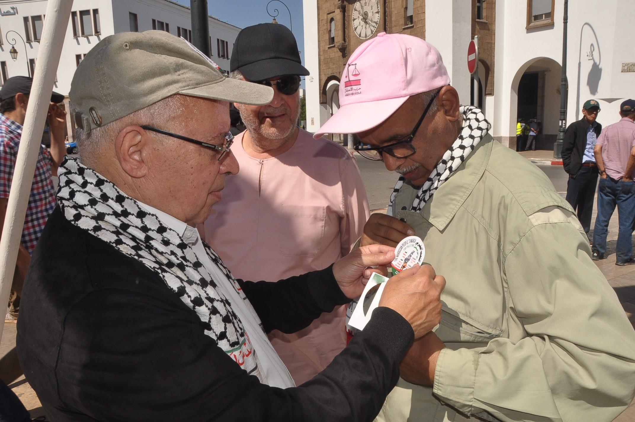 """الأخ نزار بركة : مسيرة الرباط تعبير عن الإجماع الوطني نصرة لفلسطين ورفضا لما سمي بـ""""صفقة القرن"""""""