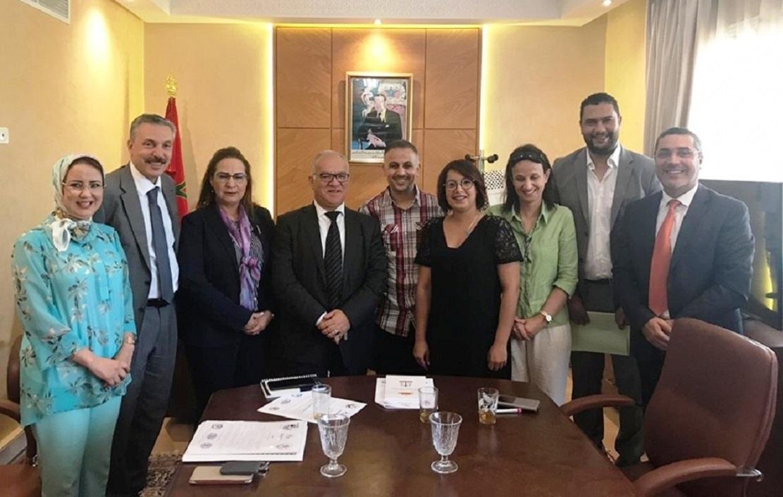 التنسيقية الوطنية للمروضين الطبيين بالمغرب تناقش أوضاع القطاع مع الفريق الاستقلالي
