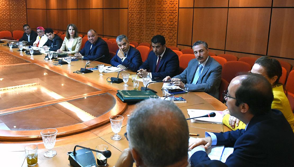 في الاجتماع الأسبوعي للفريق الاستقلالي بمجلس النواب