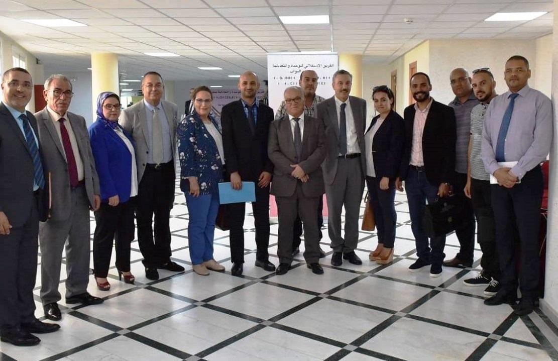 الجمعية المغربية لتقنيي الإسعاف والنقل الصحي تناقش أوضاع القطاع مع الفريق الاستقلالي