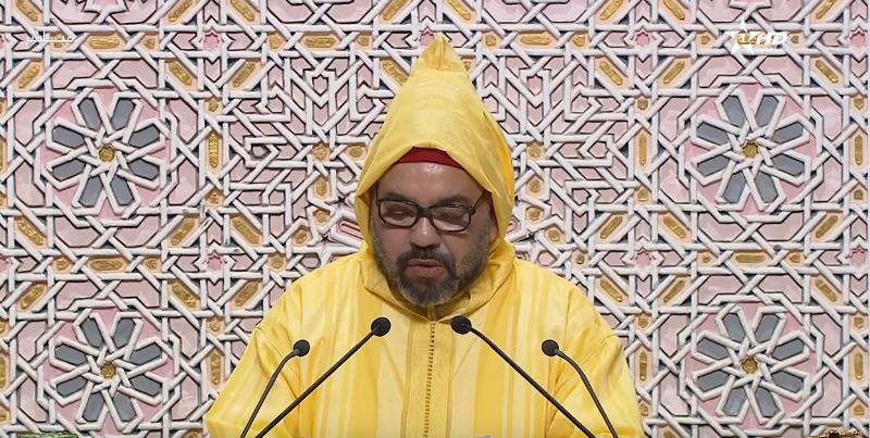 جلالة الملك يلقي خطابا ساميا أمام أعضاء مجلسي البرلمان بمناسبة افتتاح الدورة الأولى من السنة التشريعية