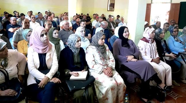 الأخ عمر حجيرة يترأس الدورة العادية للمجلس الإقليمي  لحزب الاستقلال بالناظور و الدريوش
