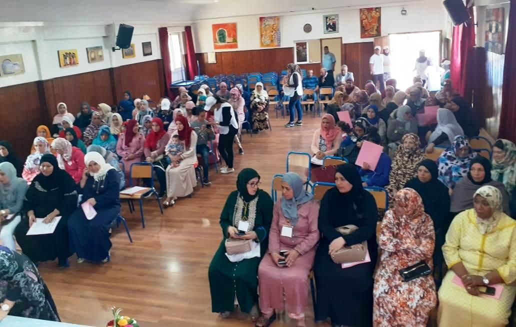 قضايا المرأة العاملة والمناصفة في المؤتمرالإقليمي لمنظمة المرأة الشغيلة باكادير