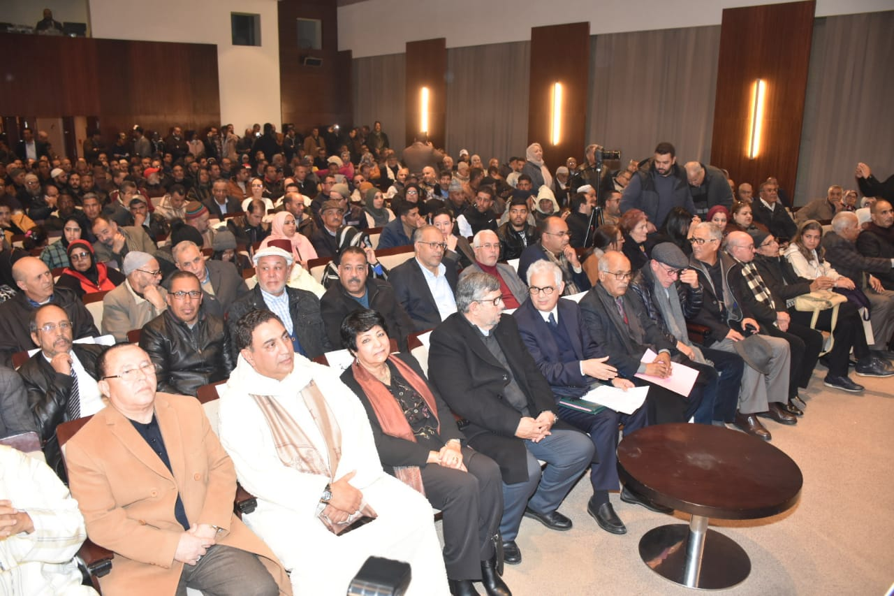 الأخ نزار بركة يترأس حفلا تأبينيا مهيبا بمناسبة أربعينية الفقيد الحاج محمد ثابت بمدينة مراكش