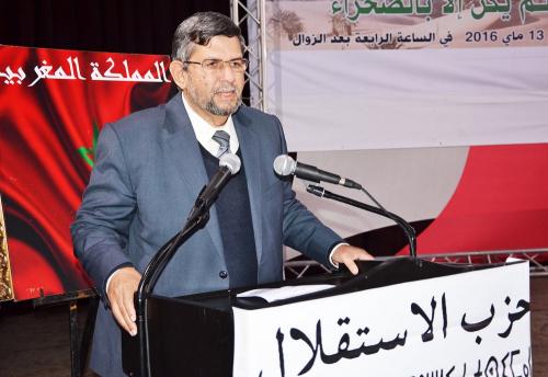 """الأخ عبد الواحد الفاسي يكتب : شعب موحد ضد"""" كورونا """" لن يهزم أبدا"""