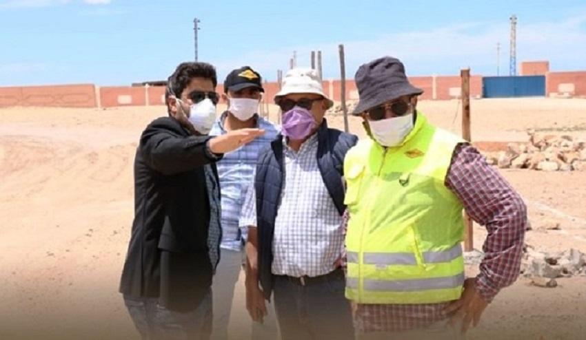 جماعة العيون تواصل مشاريع توسيع وتعبيد وتهيئة الطرق لتحسين جودة الخدمات بالمدينة