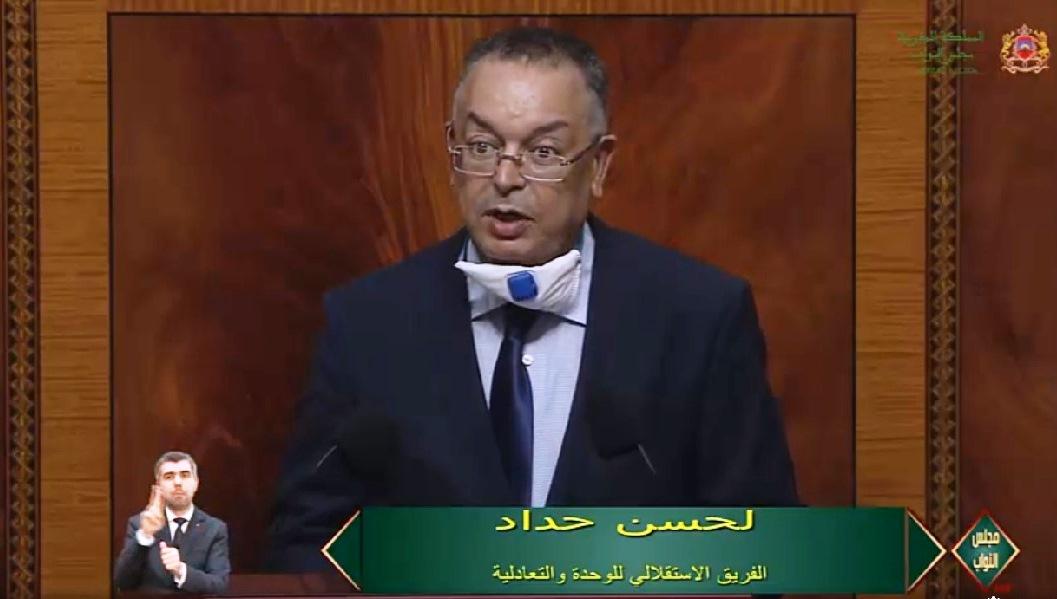 الأخ لحسن حداد: ماذا أعدت الحكومة لتجاوز الوضعية المقلقة للقطاعات المهيكلة كالسياحة والصناعة