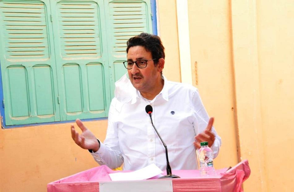 الاخ عبد الصمد قيوح  يترأس المؤتمر المحلي لحزب الاستقلال  بالكردان باقليم تارودانت
