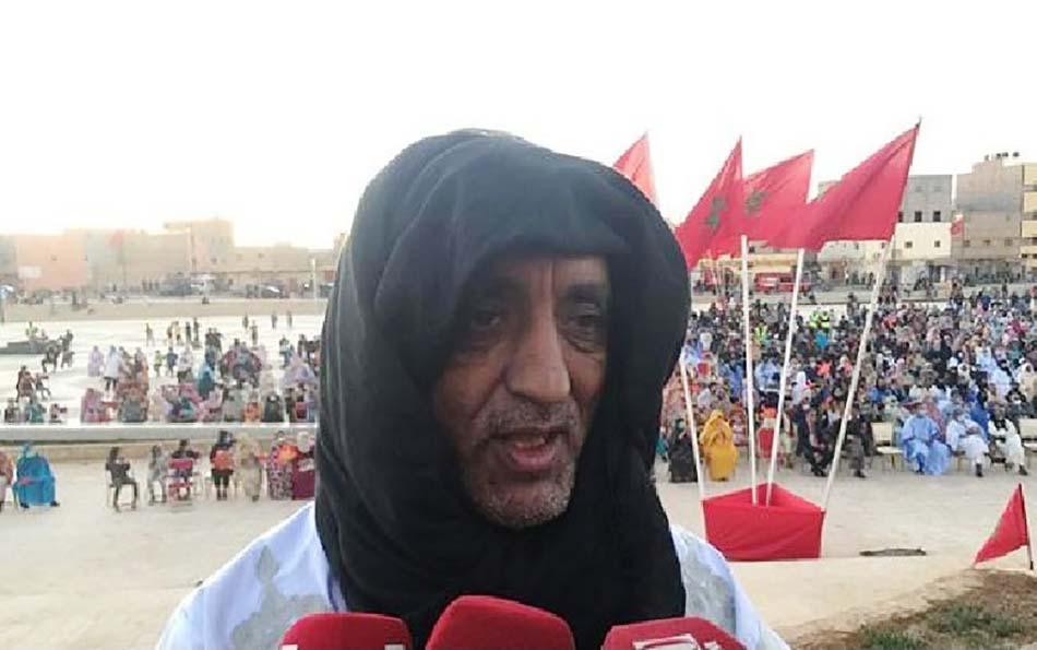 في تجمع جماهيري بمدينة السمارة تفاعلا مع القرار الأمريكي المؤكد لمغربية الصحراء